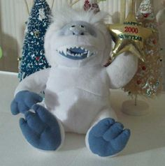 Abominable Snowman Bumble Yeti with CVS Logo 10 inch Beanie Plush