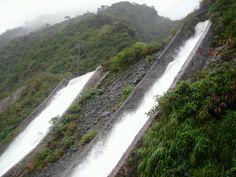 Water Falls beside Pagudpud Viaduct
