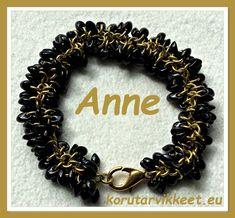 Tässä on hänen upeat korut. Charmed, Frame, Bracelets, Jewelry, Bangles, Jewlery, Jewels, A Frame, Bracelet