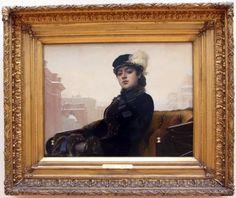 Иван Крамской. Неизвестная, 1883