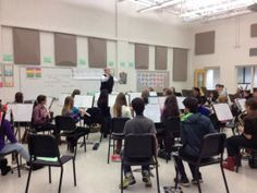 Band Director Chris. Bucato leads the Norridge School District concert band in rehearsal for the annual holiday concert.  |  Cathryn Gran/Su...