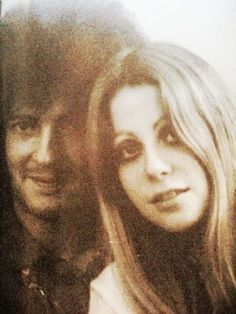Eric Clapton and Charlotte Martin