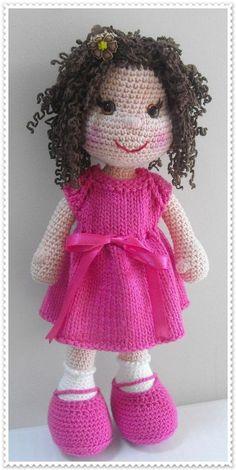 ♡ Crochet doll .
