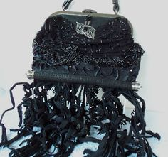 Hey, I found this really awesome Etsy listing at https://www.etsy.com/listing/75342986/gothic-purse-couture-black-widow-avant