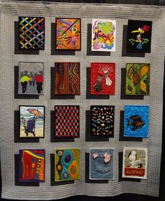 How To Make A Shadow Block Mini Quilt Tutorial by Debora from Studio