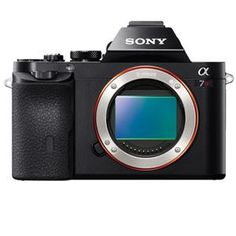 Sony A7R: Picture 1 regular. Sony Alpha a7R Digital Camera, Full Frame 36MP, 2.4 million dot OLED Viewfinder, Wi-Fi sharing $2,298.00