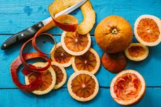 Blood Orange Slices by Gabriel (Gabi) Bucataru - Stocksy United Orange Oil, Orange Slices, Blood Orange, Grapefruit, Gabriel, Food, Instagram, Archangel Gabriel, Eten