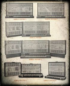 ARP 2500 Systems (1970) #1970s #vintage #synth #synthesizer #retro