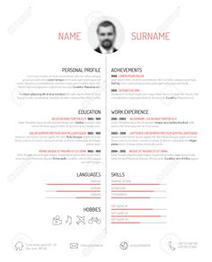 resume template with photo cv cover letter references for ms word professional creative and design cv engineer model 01 julia - Cv Resume Template