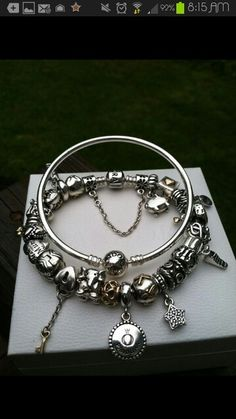 Vos Pandora Vos créations Your creation Your bracelet Des bracelets Pandora…