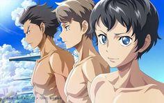 Новая манга и аниме по ранобэ DIVE!!