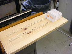 DIY drying rack for envelopes - Google Search