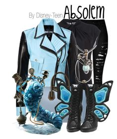 Absolem by disney-teen on Polyvore featuring polyvore, fashion, style, Diane Von Furstenberg, Just Cavalli, Givenchy, Disney, women's clothing, women's fashion, women, female, woman, misses, juniors and aliceinwonderland