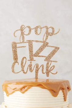 New Year's Cake Topper