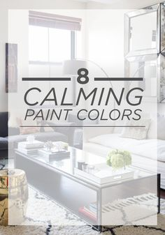 Did you know that certain paint colors can help reduce stress? These 8 calming colors—from a soft lavender like BEHR Monologue to a neutral beige like BEHR Pale Cashmere—can help you create a relaxing oasis in any room in your home. Calming Bedroom Colors, Calming Paint Colors, Bedroom Paint Colors, Paint Colors For Home, House Colors, Behr Paint Colors, Paint Color Schemes, Trending Paint Colors, Princess Castle