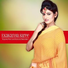 Fashion changes but elegance is remembered forever.! Grace your presence with the touch of elegance.! #EthnicWear #Saree #DesignerLook #Elegance #EkakanyaSarees