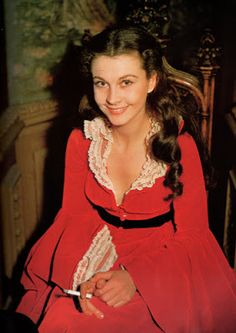 "Vintage Glamour Girls: Vivien Leigh in "" Gone with the wind """