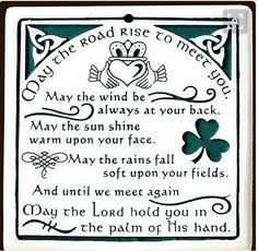 HAPPY ST. PATRICK'S DAY. HAVE FUN. ENJOY THE DAY. GO PARTY WITH ALL THE FESTIVITIES.