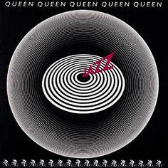 "Nov 1978 – 37 years ago today, Queen released their album, ""Jazz. Queen Album Covers, Rock Album Covers, Music Album Covers, Music Albums, Classic Album Covers, Lp Cover, Vinyl Cover, Cover Art, Lp Vinyl"