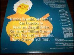 Malvina Reynolds - You Can't Make A Turtle Come Out - YouTube