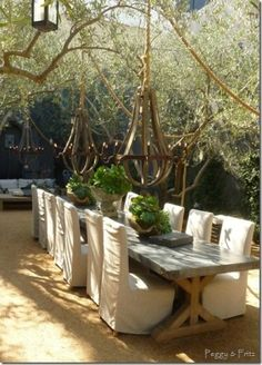 Restoration hardware on pinterest restoration hardware for Restoration hardware outdoor dining