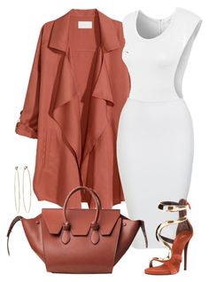 """""""Untitled #343"""" by emsdash ❤ liked on Polyvore featuring H&M, LE3NO, Giuseppe Zanotti and Dean Harris"""