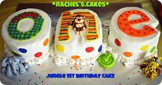 1st Birthday ONE Jungle Cake