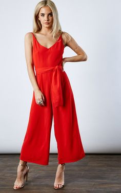 Poppy Deep Scoop Back Jumpsuit