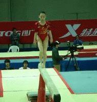 (gif of Zhang Yelinzi's punch 1/2+Korbut)