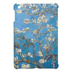Branches with Almond Blossom Van Gogh painting iPad Mini Covers #vangogh #gogh #almond #blossom #painting #postimpressionism #smartphone #cover #accessorries #gift #case