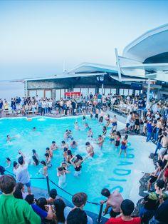 The gem of Mykonos Nightlife Best Club, Future Travel, Party Party, Electronic Music, Mykonos, Bucket Lists, Nightlife, Night Club, Gem