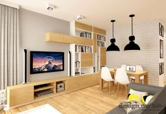 Salon + podłoga + meble