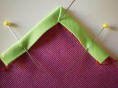 Canto da costura - como fazer cantos perfeitos