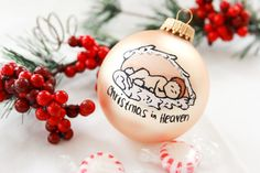 Christmas In Heaven  Miscarriage/Baby Loss by BabyGeneration on Etsy, $10.00