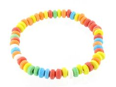 One of the best accessories as the candy necklace! Nothing like sugar and spit to top off an outfit.