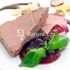 Domácí játrová paštika recept - Vareni.cz Steak, Menu, Food, Menu Board Design, Essen, Steaks, Meals, Yemek, Eten