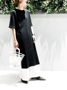 「ラフなのに決まる無地Tワンピ」WEAR Officialのお気に入りフォルダ - WEAR How To Wear, Dresses, Fashion, Vestidos, Moda, Fashion Styles, Dress, Fashion Illustrations, Gown