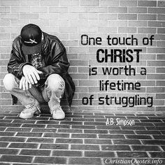 Touch someone with the love of #Jesus today. #TeamJesus