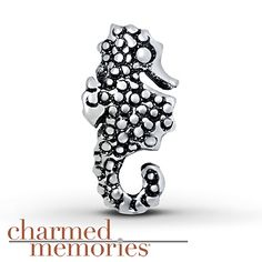 Charmed Memories Seahorse Charm Sterling Silver