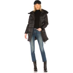 Canada Goose Altona Parka (1 410 AUD) ❤ liked on Polyvore featuring outerwear, coats, coats & jackets, parka coat, fur trim parka coat, feather coat, canada goose coat and fur coat