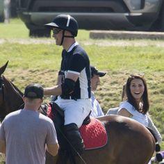 worldofwindsor: Maserati Royal Charity Polo Trophy, Beaufort Polo Club, Tetbury, June 10, 2018-Duke and Duchess of Cambridge