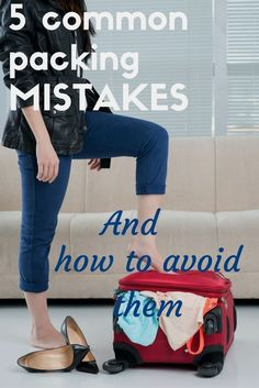 Do you wish you could pack less when you travel?  Do you pack a big bag but still never seem to have anything to wear?  Then this post is for you - how many of these simple packing mistakes do you make?  But there is something you can do about it!