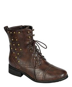 Brown Alice Boot