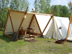Celtic tent place by yakatchi-stock
