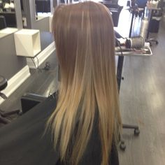#ombré with a few higher #highlights underneath