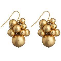 Indian Bead Cluster Earrings - The Met Store