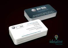 Cartão de visitas FS Caldeiraria e Montagem