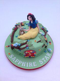 A Snow White Cake by Fancy Fondant