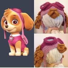 Resultado de imagen para gorros a crochet de paw patrol