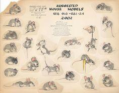 Field mouse model sheet by #LouieSchmitt